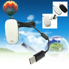 PC Wireless Controller Gaming Receiver Fit For MICROSOFT XBOX 360-balck/white