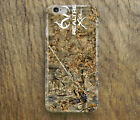 Brown Realtree 3D Case Cover fits Apple iPhone 5 6 7 8 X