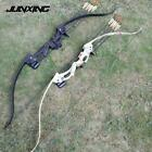 """Two Color 48"""" Recurve Bow with 20lbs Draw Weight 28"""" Draw Length for Women and C"""