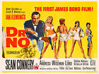 Dr.No ver3 James Bond 007 Movie Poster Canvas Picture Art Print Premium A0 - A4 £27.49 GBP on eBay