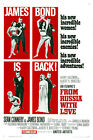 From Russia With Love 5 Movie Poster Canvas Picture Art Print Premium A0 - A4 £15.66 GBP on eBay