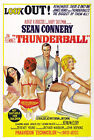 Thunder Ball 6 Movie Poster Canvas Picture Art Print Premium Quality A0 - A4 £49.49 GBP on eBay