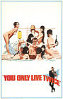 You Only Live Twice 6 Movie Poster Canvas Picture Art Print Premium A0 - A4 £10.49 GBP on eBay