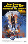 Diamonds Are Forever 1 Movie Poster Canvas Picture Art Print Premium A0 - A4 £2.49 GBP on eBay