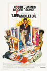 Live and Let Die 1 Movie Poster Canvas Picture Art Print Premium Quality A0 - A4 £10.49 GBP on eBay