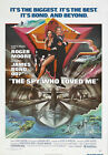 The Spy Who Loved Me 1 Movie Poster Canvas Picture Art Print Premium A0 - A4 £2.49 GBP on eBay