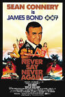 Never Say Never Again 2 Movie Poster Canvas Picture Art Print Premium A0 - A4 £2.49 GBP on eBay