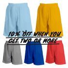 HI MEN MESH SHORTS CASUAL BASKETBALL SHORTS 2 POCKETS GYM FITNESS ACTIVE WORKOUT