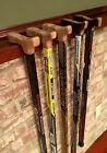 Custom Hockey Stick Walking Cane - Easton - All Black (avail in 30 - 38inch)
