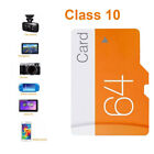 Class 10 32/64GB TF Card Durable Secure Flash Card Videos Game Console