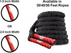 GEARDO CORE Battle Rope Poly Dacron Exercise Undulation Ropes Gym Muscle Toning