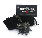 The Witcher 3 Wolf School Medallion Geralt Cosplay Necklace Game Merch UK Shop