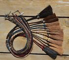 Внешний вид - Natural Braided Horsehair Stampede String Tassels Cotter Pin - Assorted Colors