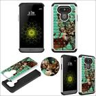Hybrid Crystal for LG G5 Ultra Shock Proof Thin Case Bling Case Dual Layer