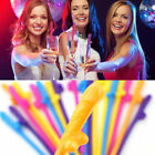 Внешний вид - Penis Sipping Straws 10Pack Drinking Straw Bachelorette Party Favor Decor 2018