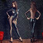 Catsuit Women Adult Game Crotchless Jumpsuit Bodysuit Clubwear Lingerie Costume