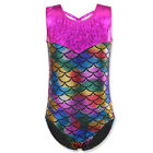 Kid Girls Ballet Leotards Sparkle One-piece Gymnastics Costumes Dancewear Tanks