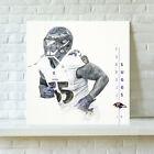 HD Print Baltimore Ravens Terrell Suggs Oil Painting Art on Canvas Unframed $14.0 USD on eBay