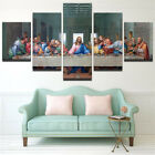VV176 Large HD Printed oil painting on canvas 5Pcs/set The Last Supper No Frame