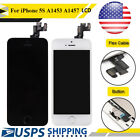 For iPhone 5S LCD Touch Screen Display Digitizer Assembly + Frame Replacement US