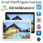10 inch Tablet PC Android 6.0 4GB RAM 64GB ROM Octa Core 8K Dual Cameras 5.0MP