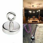 FISHING MAGNET 255 LB Super Strong Neodymium Round Thick Eyebolt Treasure Hunt <br/> USA SELLER/FAST FREE SHIPPING/HIGH QUILITY