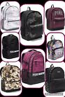 NWT Victorias Secret PINK Marl Campus Backpack Camo Gold Black Orchid Rhinestone