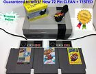NINTENDO NES REFURBISHED CONSOLE SYSTEM GAMES SUPER MARIO ++YOU PICK BUNDLE++