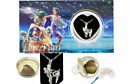 Zodiac Signs Cage Pendant Love Wish Pearl Kit Cultured Pearl Oyster Necklace Kit