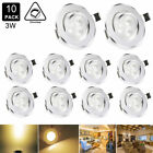 3WLED Ceiling Light Downlight Warm Spotlight Recessed LightingFixture LED Driver