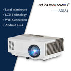 Smart Android Wifi Home Theater Projector Online TV Movie Game HDMI HD 1080p USB