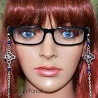 Witches Knot Glasses Chain - Pagan Jewellery Various Gemstones Wicca Spectacles