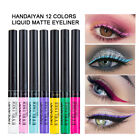 Внешний вид - HANDAIYAN Metallic Shiny Smoky Eyes Eyeshadow Waterproof Glitter Liquid Eyeliner
