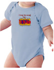 Infant creeper bodysuit One Piece t-shirt I May Be Small But I'm The Boss k-565