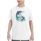 Youth Kids T-shirt Dolphins k-566
