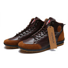 Mens Leisure Lace Up Sneaker Boots Size & Color Options