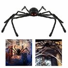 "30"" Halloween Decoration Black Spider Haunted House Prop Indoor Outdoor Wide"