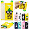 Cute 3D Pattern Soft Rubber Phone Case Cover For Samsung Note 10 Plus/S9/S8/S10