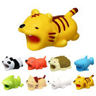 8Pcs Animal Bites Cable Protector Accessory for iPhone Smartphone Charger Cord