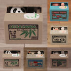 Piggy Bank Panda Cat Steal Money Coin Saving Box Pot Case Storage Lovely T6