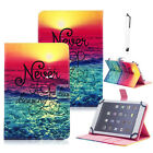 """US For RCA Voyager 7"""" 8"""" 10.1"""" Android Tablet Universal Leather Stand Cover Case"""