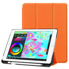 """Stand PU Leather Protective Pen Slot Skin For Apple 9.7"""" iPad 2018 Case Cover"""