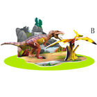 3D Puzzle Diy Dinosaur Paper Assembled Brain Games Educational Kids Jigsaw Toy;