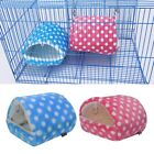 Kyпить Cute Guinea Pig Bed Animal Winter Cage Mat Hamster Hedgehog Sleeping House S-XL на еВаy.соm
