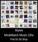 Styles(9) - Mix&Match Music CDs U Pick *NO CASE DISC ONLY*