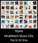 Styles(27) - Mix&Match Music CDs U Pick *NO CASE DISC ONLY*