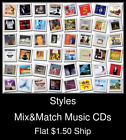 Styles(41) - Mix&Match Music CDs U Pick *NO CASE DISC ONLY*
