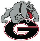 "University of Georgia Bulldogs Color Vinyl Decal  -You Choose Size 2""-28"""