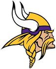 "Minnesota Vikings NFL Color Die Cut Vinyl Decal Sticker You Choose Size 2""-34"" $3.79 USD on eBay"