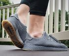 NEW ADIDAS DEERUPT RUNNER MENS LIFESTYLE SHOES GREY MULTIPLE SIZES